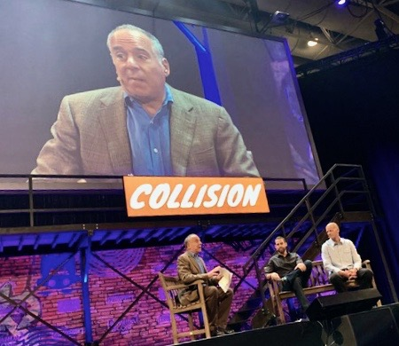 Peter Himler at Collision conference